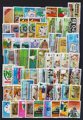 Ivory Coast 1984 - 1987 Mint hinged selection of stamps - (351)