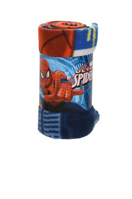 Spiderman Fleecedecke 100 x150cm Marvel Kuscheldecke Tagesdecke Fleece