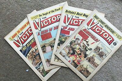The Victor February 1970 1 Month's Run x 4 Issues