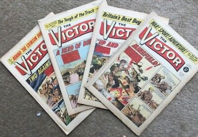 The Victor April 1970 1 Month's Run x 4 Issues