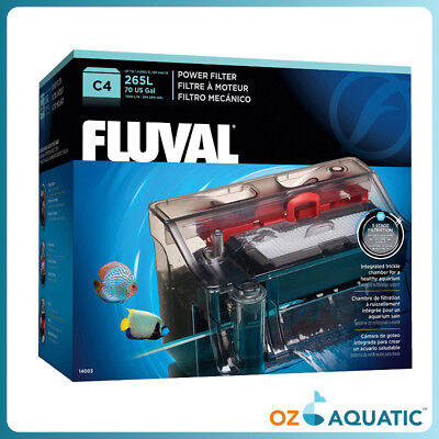 Fluval C4 Power Hang-on Filter (150 to 265 L) 5-stage filtration