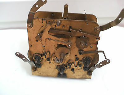 German Westminster Chimes Mantle Clock Movement Spares