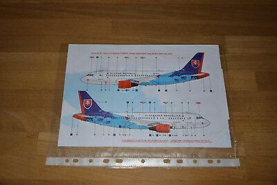"BOA Decals ""Slovak Government"" Airbus A319, 1:144"