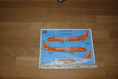 "26Decals ""Easyjet"" Airbus A320, 1:144"