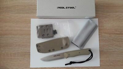 Real Steel Bushcraft 2 Coyote Satin Kydexscheide
