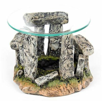 PAGAN ALTAR OFFERING BOWL Standing Stones Oil Burner Witch Pagan Altar Wicca