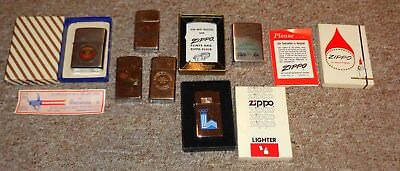 Lot of Vintage Zippo Lighters Take a LOOK !!!!!!