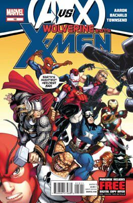WOLVERINE AND THE X-MEN ISSUE 12 - FIRST 1st PRINT - AvX VERSUS AVENGERS