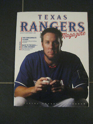 Texas Rangers Magazine Baseball MLB USA