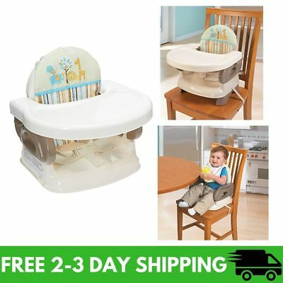 Summer Infant Deluxe Comfort Booster Seat, Folding High Chair, New Free Shipping