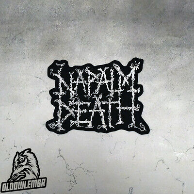 Big Back patch Napalm Death Grindcore Hardcore Death Metal band.