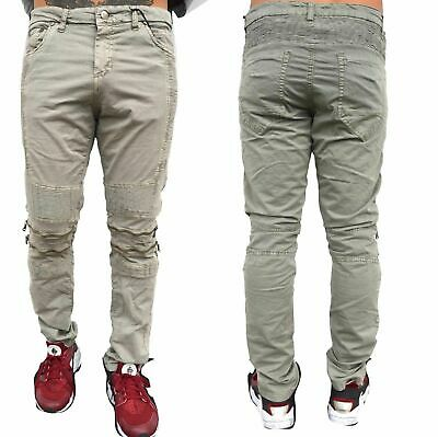 Slim fit Destroyed Jeans Biker Hose Denim  zerissen Used Look CZD6008