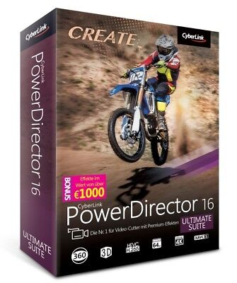 PowerDirector 16 Ultimate Suite Neu OVP
