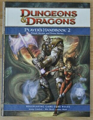 Dungeons & Dragons 4th Player´s Handbook 2