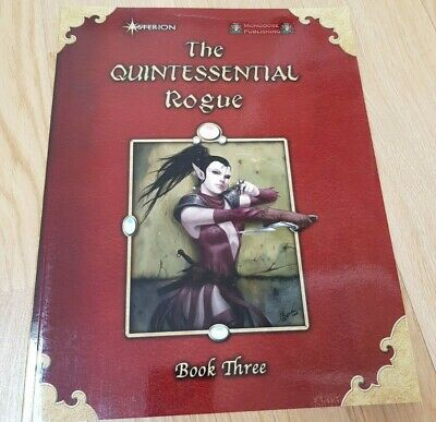 The Quintessential Rogue Book Three - 2009 RPG Softcover