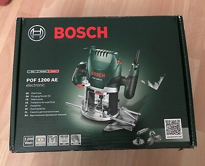 Bosch pof 1200 ae 14 plunge router 240v new and unused complete bosch pof 1200 ae 14 plunge router 240v new and unused keyboard keysfo Choice Image