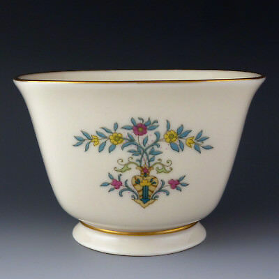 Lenox China BLUE TREE Treat / Candy / Nuts Bowl Square Limited Production Run