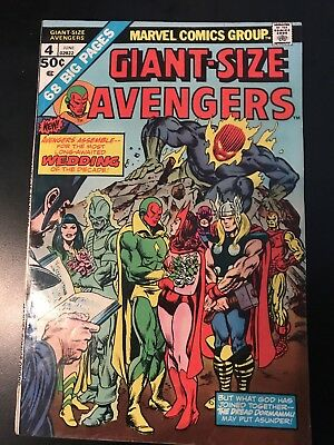 Giant-Size Avengers #4 (Jun 1975, Marvel)