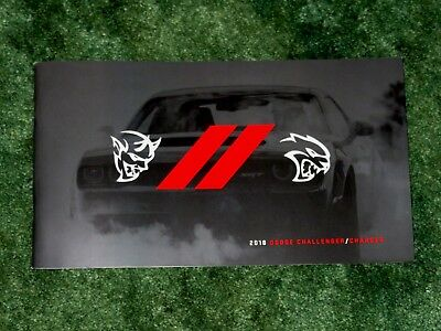 2018 Dodge Challenger Charger Brochure R/t Srt Demon Hellcat Scatpack 48 Pgs