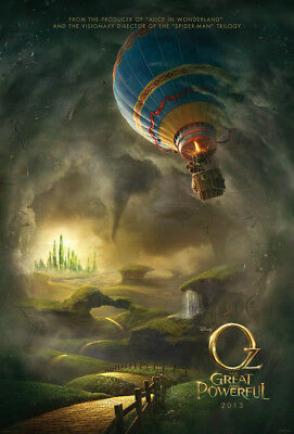 OZ THE GREAT AND POWERFUL MOVIE POSTER DS ORIGINAL Advance 27x40 JAMES FRANCO