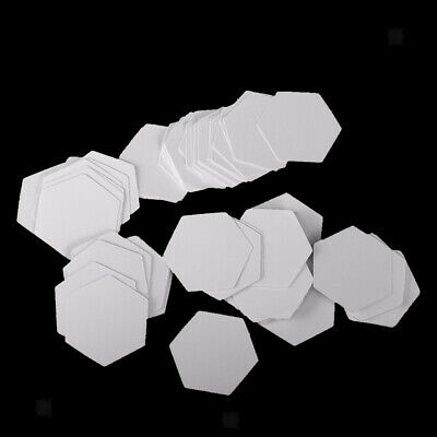 40/100PCS HEXAGON/FLOWER PAPER Quilting Template English Paper ...
