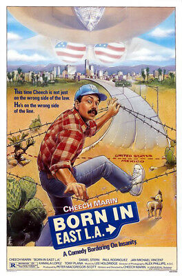 Born in East L.A. (1987) original movie poster - single-sided - rolled