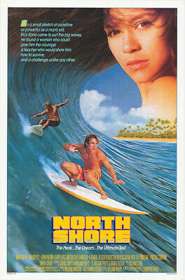 North Shore (1987) original movie poster single-sided rolled