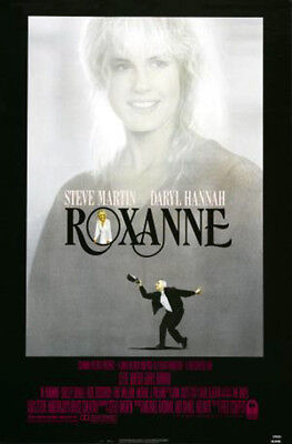 Roxanne (1987) original movie poster single-sided rolled