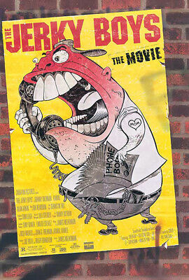 The Jerky Boys (1995) original movie poster - single-sided - rolled