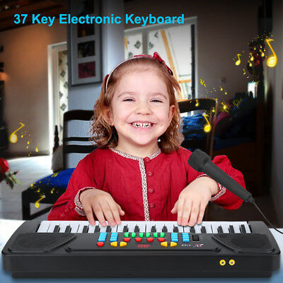 37 Key Electric Digital Piano Organ Music Electronic Keyboard New Gift for Child