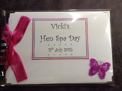 Personalised Hen Night/Party etc Photo Album/Memory/Scrap Book