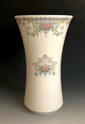 "Royal Doulton Fine Bone China Juliet H 5077 9"" Vase Made In England"