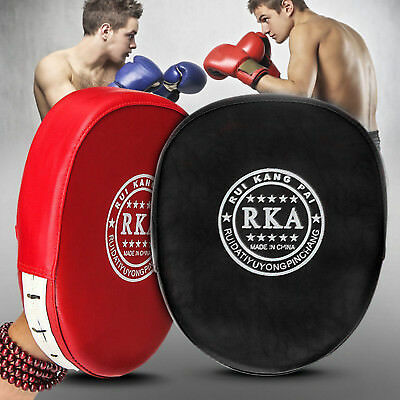 2pcs Training Boxing Mitts Target Focus Punch Pad Glove MMA Karate Muay Thai Kic