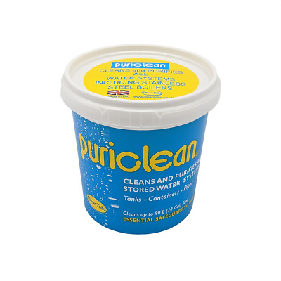 Puriclean 100g Water Purification Treatment Caravan Water System Cleaner