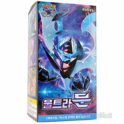 Pokemon Cards TCG Sun & Moon Ultra Prism MOON SM5M Booster 1 Display Box Korean