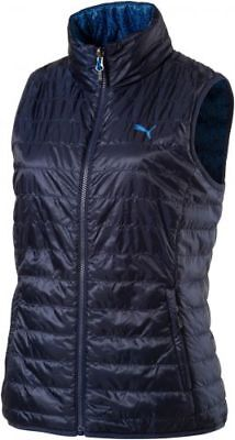 Puma PWRWARM Reversible Vest, peacoat