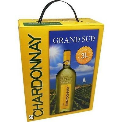 Grand Sud Chardonnay Bag in Box 12,5% vol 300cl BiB