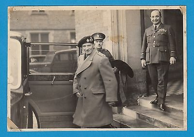 Historic picture Bernard Montgomery Hastings Medhurst britsh official photo RfT3
