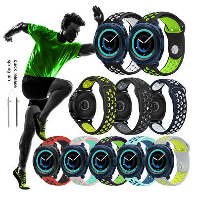 20mm Silicone Replacement Bracelet For Samsung Gear Sport Watch Band Strap