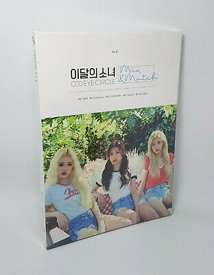 LOONA MONTHLY GIRL Mini Album Odd Eye Circle-[Mix&Match] Normal CD+P.Book+P.Card