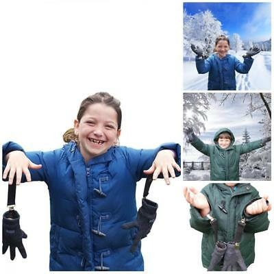 JJ's Elastic Glove And Mitten Clips For Kids Three Extra Sturdy Super Tight Grip