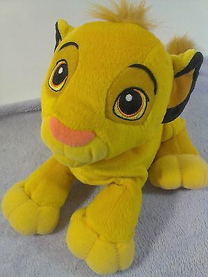 HASBRO PURRING SIMBA Cub Plush SOFT DISNEY The LION KING Sound Toy 2002