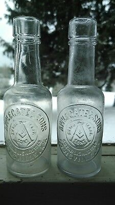 Applegate and Sons Louisville Kentucky. Lot of 2.