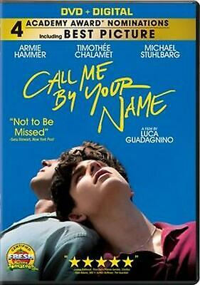Call Me by Your Name - DVD Region 1 Free Shipping!