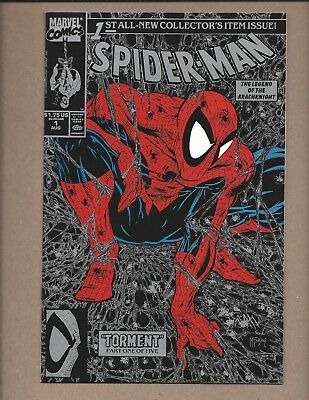 Spider-Man #1  Silver and Black Cover   VF