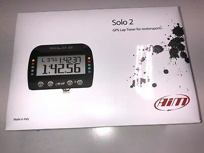 AIM X47SOLO2001U0 Solo 2 GPS Lap Timer NEW SEALED (1-2 DAY SHIPPING)**