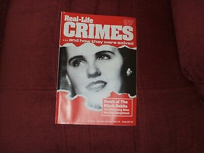 Real-Life Crimes Magazine Issue 97 Death Of The Black Dahlia