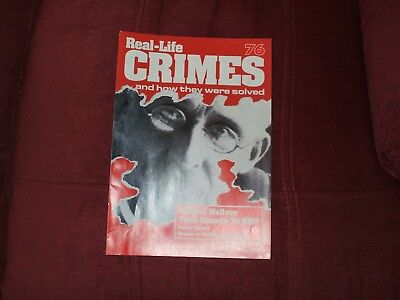 Real-Life Crimes Magazine Issue 76 William Wallace Time Enough To Kill ?