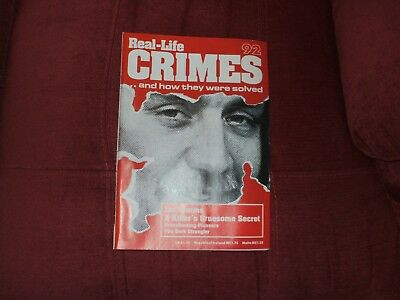Real-Life Crimes Magazine Issue 92 Ian Simms A Killers Gruesome Secret
