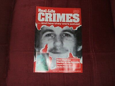 Real-Life Crimes Magazine Issue 59 Gary Hopkins Murder At The Seaside